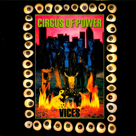 Circus Of Power - Vices