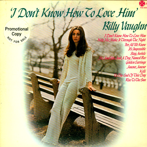 Billy Vaughn - I Don't Know How To Love Him
