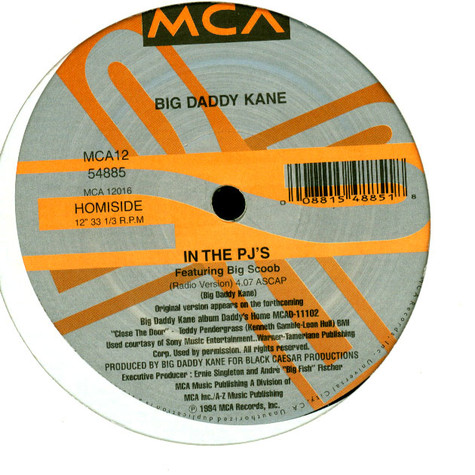 Big Daddy Kane - In The PJ's