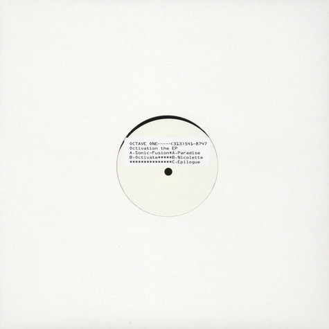 Octave One - Octivation EP