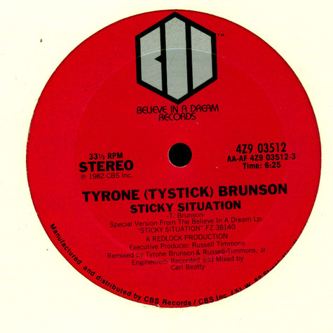 Tyrone Brunson - Sticky Situation