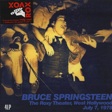 Bruce Springsteen - Roxy Theater, West Hollywood July 7, 1978