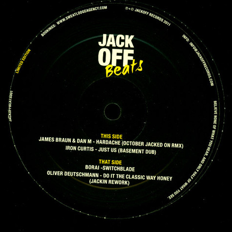 V.A. - Jack Off Beats Vol. 1