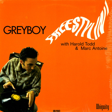 Greyboy With Harold Todd & Marc Antoine - Freestylin