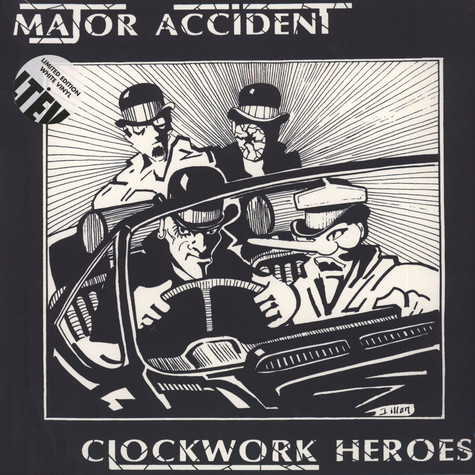 Major Accident - Clockwork Heroes - The Best Of White Vinyl Edition