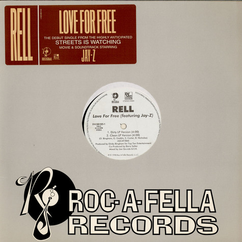 Rell - Love For Free feat. Jay-Z
