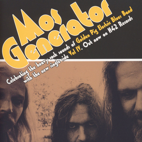 Mos Generator / Daily Thompson - Volume IV / Spit Out The Crap Yellow Vinyl Edition