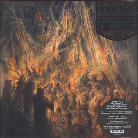 Inquisition - Magnificent Glorification Of Lucifer Semi-Clear Brown Vinyl Edition