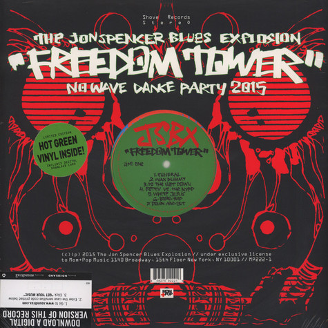Jon Spencer Blues Explosion, The - Freedom Tower