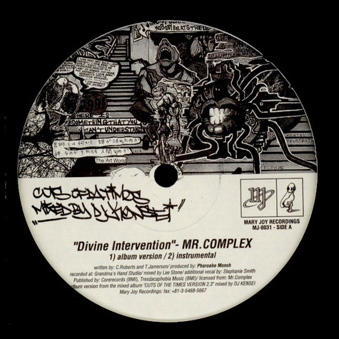 Mr. Complex / Old World Disorder - Divine Intervention / N.I.P. (Nothing In Particular)