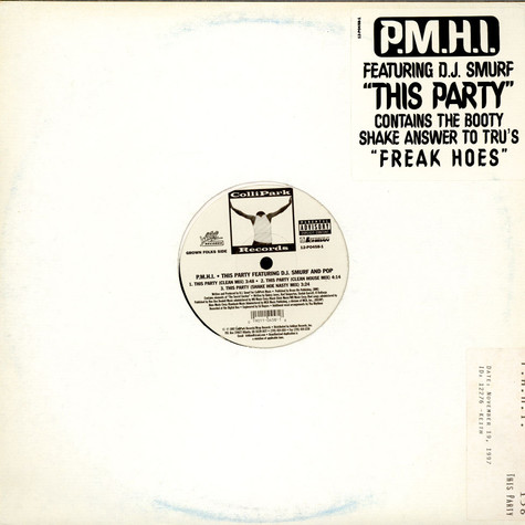P.M.H.I. - This Party / Ride On Out, Bouce Wit It!