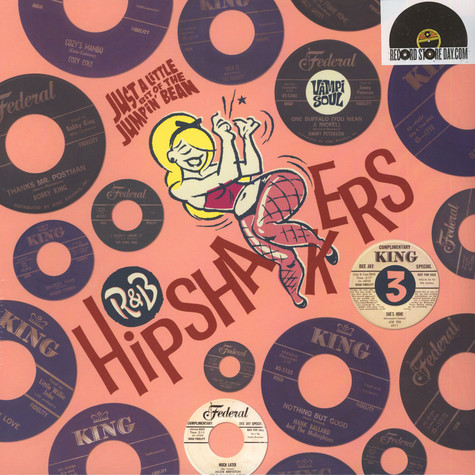 V.A. - R & B Hipshakers Volume 3 - Just A Liitle Bit Of