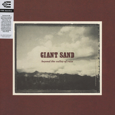 Giant Sand - Valley of Rain 30th Anniversary Edition