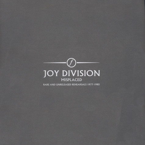 Joy Division - Misplaced - Rare And Unreleased Rehearsals 1977-1980