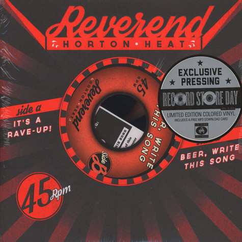 Reverend Horton Heat - It's A Rave-Up / Beer, Write This Song
