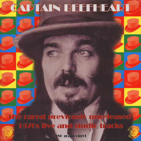 Captain Beefheart - The Rarest Previously Unreleased 1970s Live And Studio Tracks Green Vinyl Edition