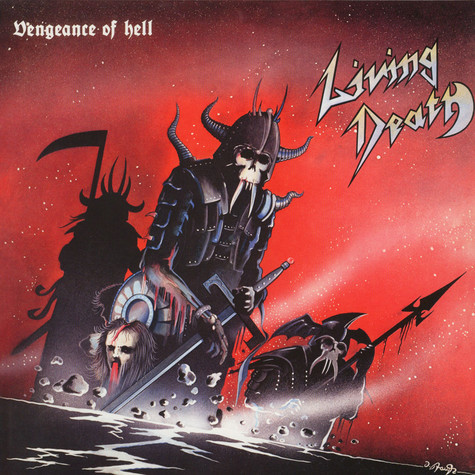 Living Death - Vengeance Of Hell Black Vinyl Edition