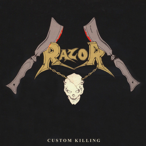 Razor - Custom Killing Black Vinyl Edition