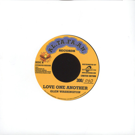 Glen Washington / Bob Andy & Mark Wonder - Love One Another / Can't Stand This