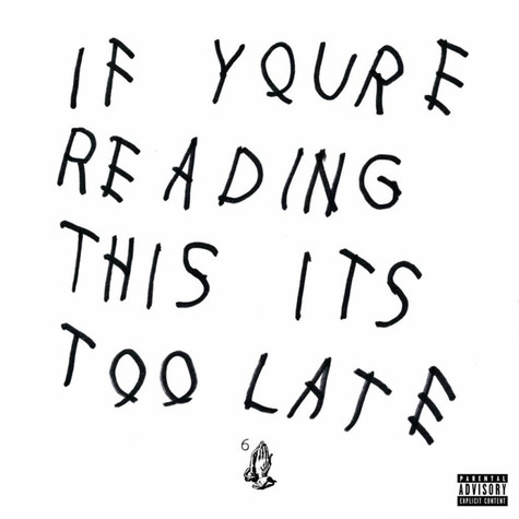 Drake - If You're Reading This It's Too Late Colored Vinyl Edition