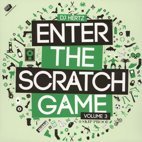 DJ Hertz - Enter The Scratch Game Volume 3 Green Vinyl Edition
