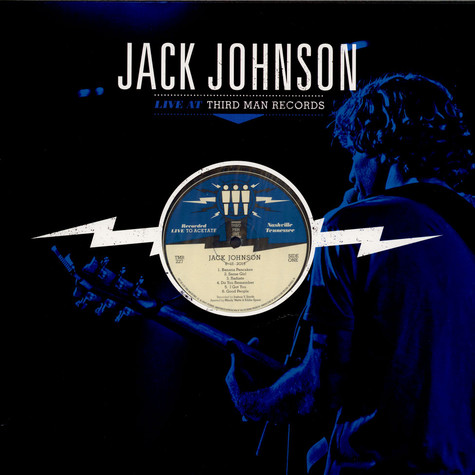 Jack Johnson - Live At Third Man Records