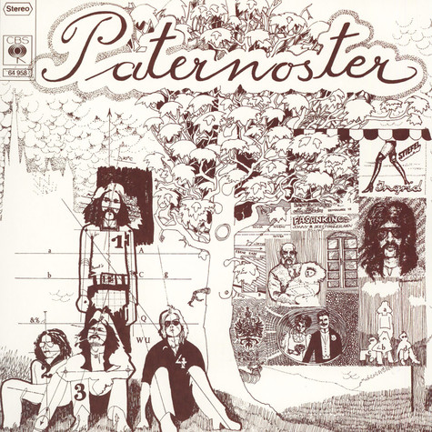 Paternoster - Paternoster Colored Vinyl Edition