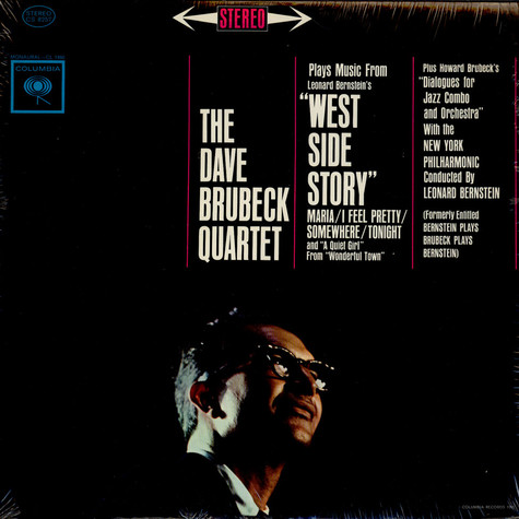 """Dave Brubeck Quartet, The - Music From """"West Side Story"""" And Other Works"""
