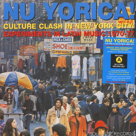 V.A. - Nu Yorica! Culture Clash In New York City: Experiments In Latin Music 1970-77, Part 1