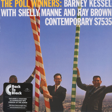 Shelly Manne / Barney Kessel / Ray Brown - The Pool Winners Back To Black Edition
