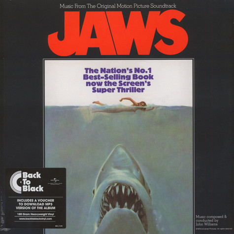 John Williams - OST Jaws Back To Black Edition