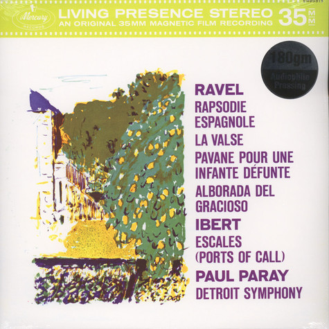 Paul Paray / DSO - M. Ravel / J. Ibert: Rapsodie Espagnole / La Valse
