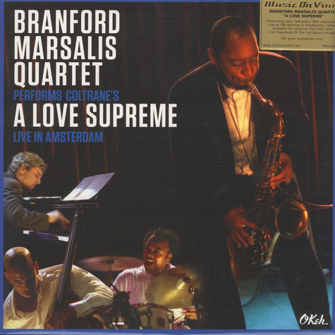 Branford Marsalis - A Love Supreme Live In..