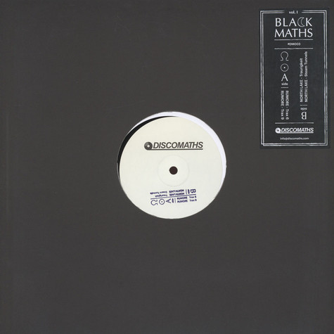 Rumore / North Lake - Black Maths