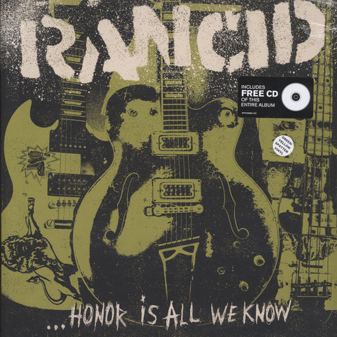 Rancid - Honor Is All We Know Green Vinyl Edition