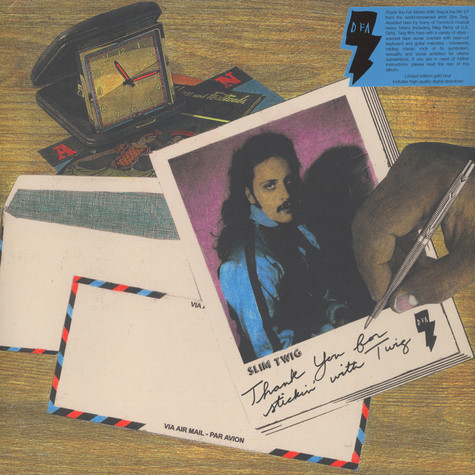 Slim Twig - Thanks For Stickin' With Twig Gold Vinyl Edition