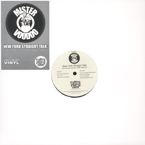 Mister Voodoo - New York Straight Talk: The Elusive Demo's EP