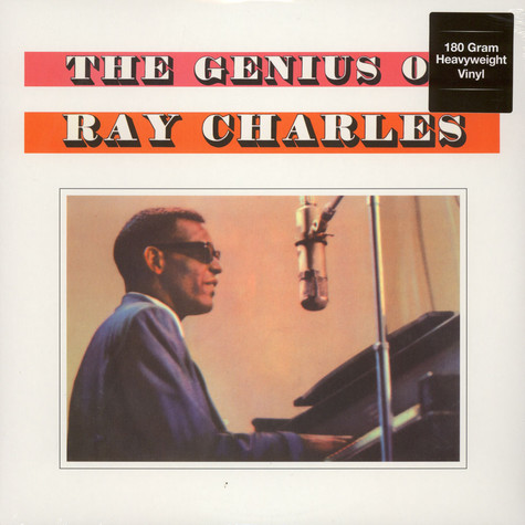 Ray Charles - The Genius Of Ray Charles 180g Vinyl Edition