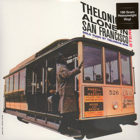 Thelonious Monk - Alone In San Francisco 180g Vinyl Edition