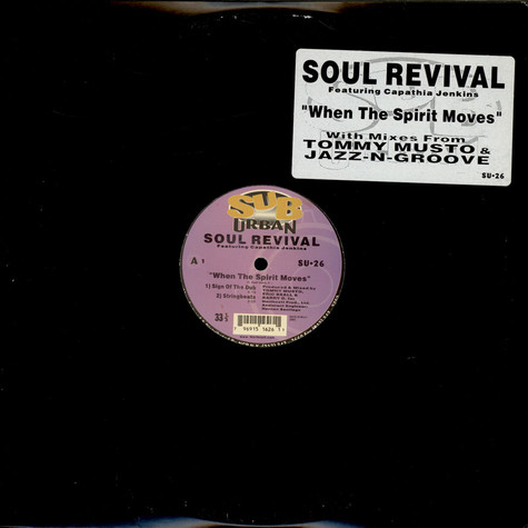 Soul Revival Featuring Capathia Jenkins - When The Spirit Moves