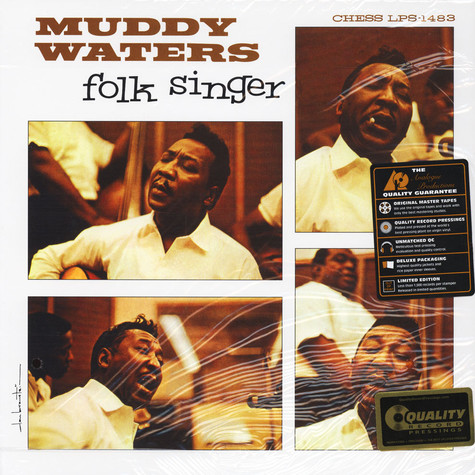 Muddy Waters - Folk Singer 200g Vinyl Edition