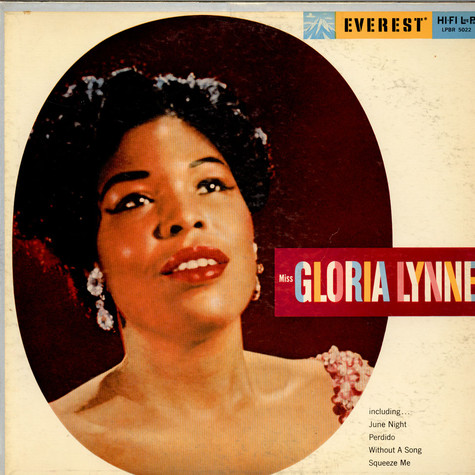 Gloria Lynne - Miss Gloria Lynne With Wild Bill Davis And His Group