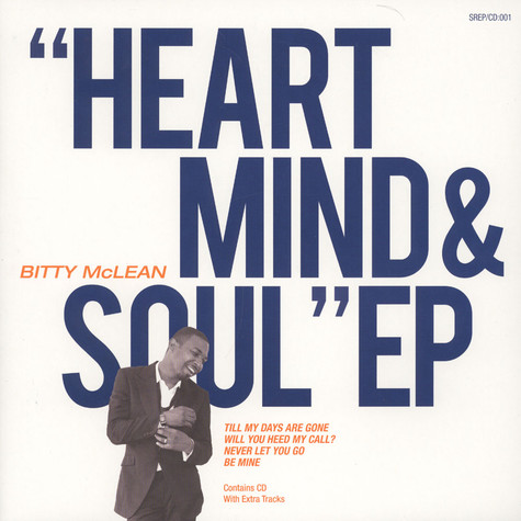 Bitty McLean - Heart Mind & Soul EP