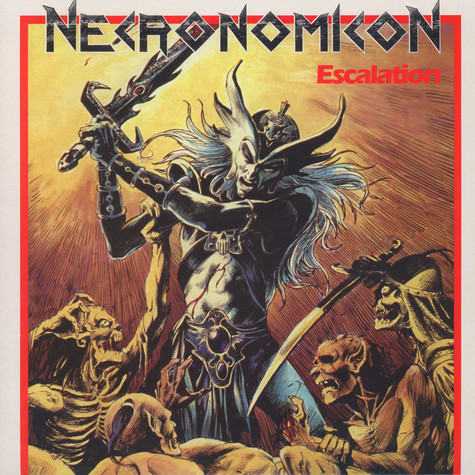 Necronomicon - Escalation Colored Vinyl Edition
