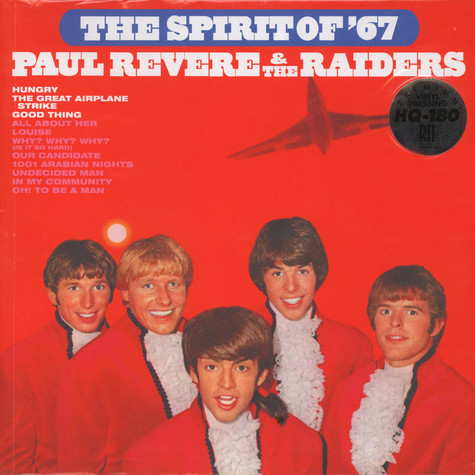 Paul Revere & The Raiders - Spirit Of 67