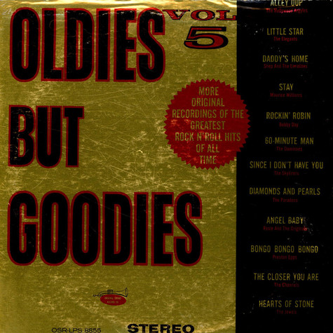 V.A. - Oldies But Goodies Vol. 5