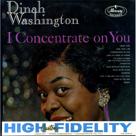 Dinah Washington - I Concentrate On You