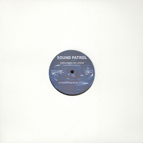 Sound Patrol - Sweetened No Lemon Limited Edition Sampler