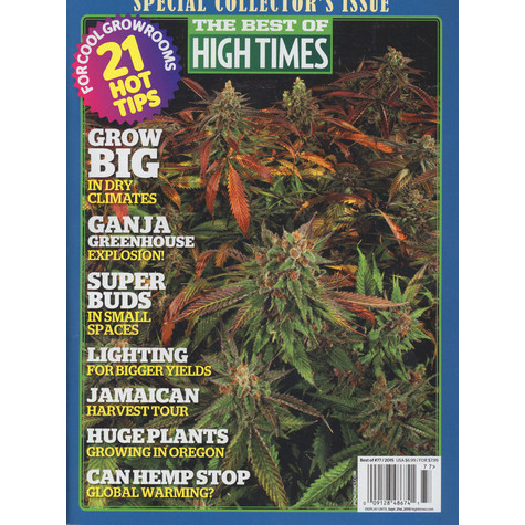 High Times Magazine - The Best Of High Times - Beat The Heat & Grow Big - Special Collector's Issue