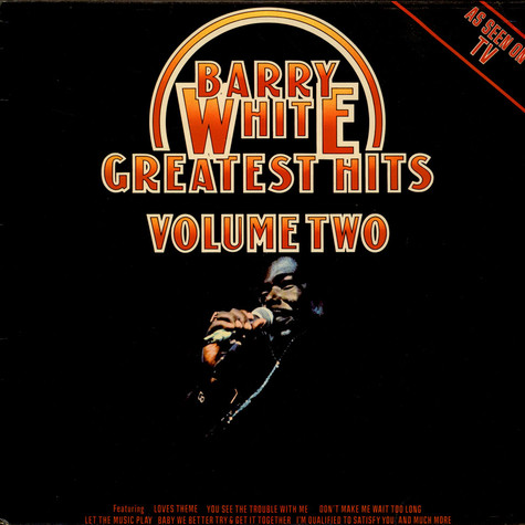 Barry White - Greatest Hits Volume Two